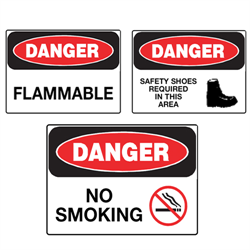 OSHA Danger Signs