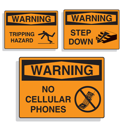 OSHA Warning Signs
