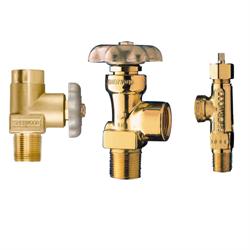 Sherwood Acetylene Cylinder Valves, Pressure Seal HW Operated