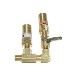 Cryogenic Dual Relief Kit Pressure Relief Valves