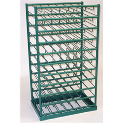 Van Rack, Holds 70 M6 Size Cylinders, (7cyl W x 10cyl H)