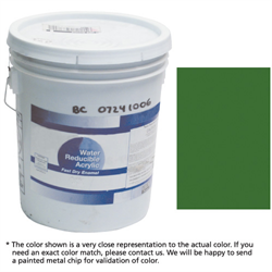 Cylinder Paint - Green (Hospital) 5 Gallon