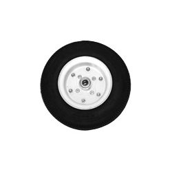 """Replacement Wheel, 12"""" X 4"""", 3/4"""" Ball Bearing, Steel, 445# Limit"""