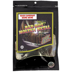 Welders Country Jerky, Red Hot Molten Metal Flavor, Case of 12/ea 4oz packages
