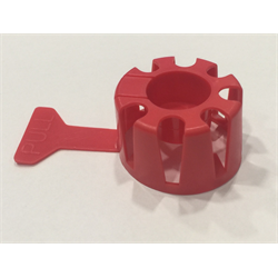 Protective Cap for OPD Style Valves, Red - Pack 1000