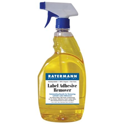 Label Adhesive Remover, 1 Quart (32oz) with Trigger Spray