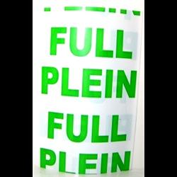 CLEARANCE - Shrink Wrap Medical Size PLEIN / FULL