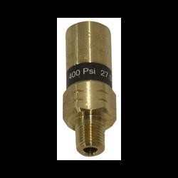 """1/4"""" 400 PSI Dewar Safety Pressure Relief Valve"""