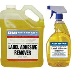 Adhesive Remover and Remover Wipes for Signs & Labels