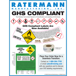 GHS Gas Labels Order Form Here