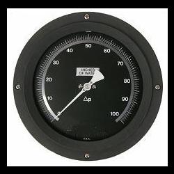 """Cryogenic Liquid Level Indicator Gauge 6"""" Dial"""