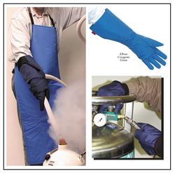 Cryogenic Clothing: Gloves, Aprons, Face Shields, & Accessories