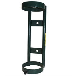 "Single ""D"" or ""E"" Size Cylinder Wall Mount"