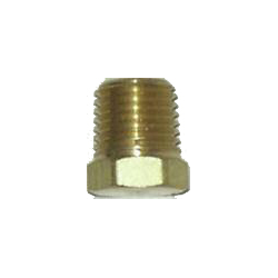 Pipe Fittings - Brass Hex Head Plug