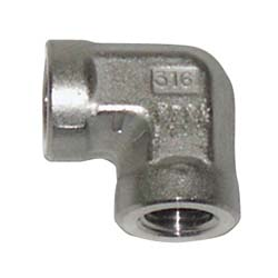 316 SS Pipe Thread Fittings - 6000 PSI