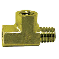 Pipe Fittings - Brass Street Tee