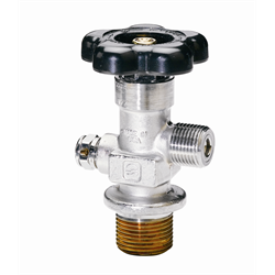 Sherwood GV O-Ring Style Chrome Plated Cylinder Valves: Tapered Thread: 
