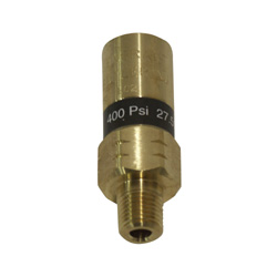 "1/4"" 400 PSI Dewar Safety Pressure Relief Valve"