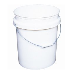 White 5 Gallon Bucket
