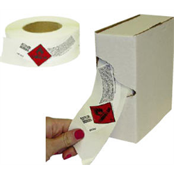 ROLLS of Cylinder Shoulder Labels