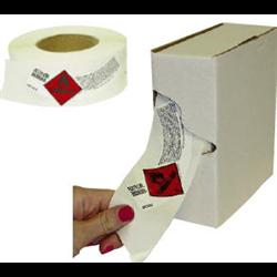 ROLLS of Cylinder Shoulder Labels