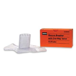 CPR Microshield with 2 Pair of Gloves and Wipes
