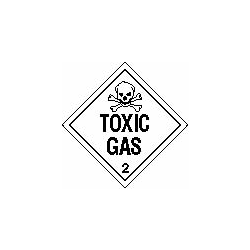 Placard - Toxic #2 Removable Vinyl