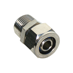 Composite Pipe Male Threaded Adapters, Stainless Steel