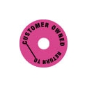 Additional Images for Collar - Customer Owned - Round - Hot Pink - Pack of 50