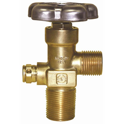 Sherwood Valve CGA 023, 1/2 NGT, NO Safety