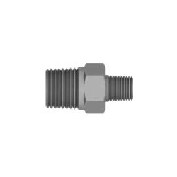 Reducing Male Adapter, Hex Stainless Steel