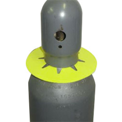 Cylinder Collars - Cap Style Round