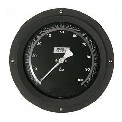 "Cryogenic Liquid Level Indicator Gauge 6"" Dial"