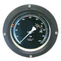 "Cryo Liquid Level Indicator Gauge 6"" Dial 1/4"" F w/ Switch"