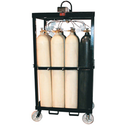 12 Pack Cradles, on Casters