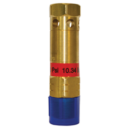 "1/2"" Cryogenic Safetly Pressure Relief Valves with Deflector"