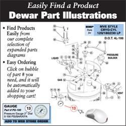 Dewar Parts Illustrations & Reference Guide