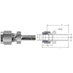 Tube Fitting Reducer
