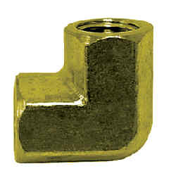 Pipe Fittings - 90* Brass Elbow