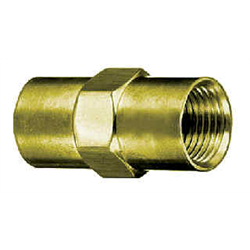 Pipe Fittings - Brass Coupler