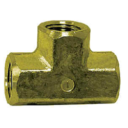 Pipe Fittings - Brass 3 Way Tee