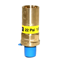 "Cryogenic Pressure Relief Valves - 1/4"" Liquid Dewar Use Only"