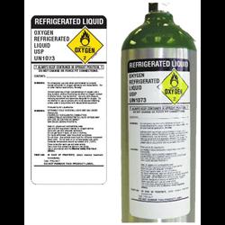 Medical Cylinder Body Labels