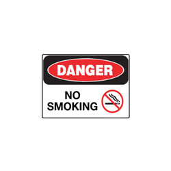 High Performance Plastic OHSA Danger Signs