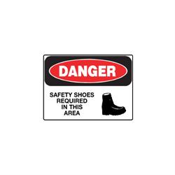 Self Adhesive Vinyl OSHA Danger Signs