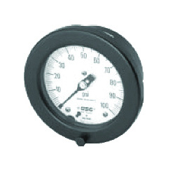 "Solfrunt 6"" Process Gauges, Back Mount Brass"