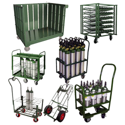 Carts, Cylinder Racks and Storage